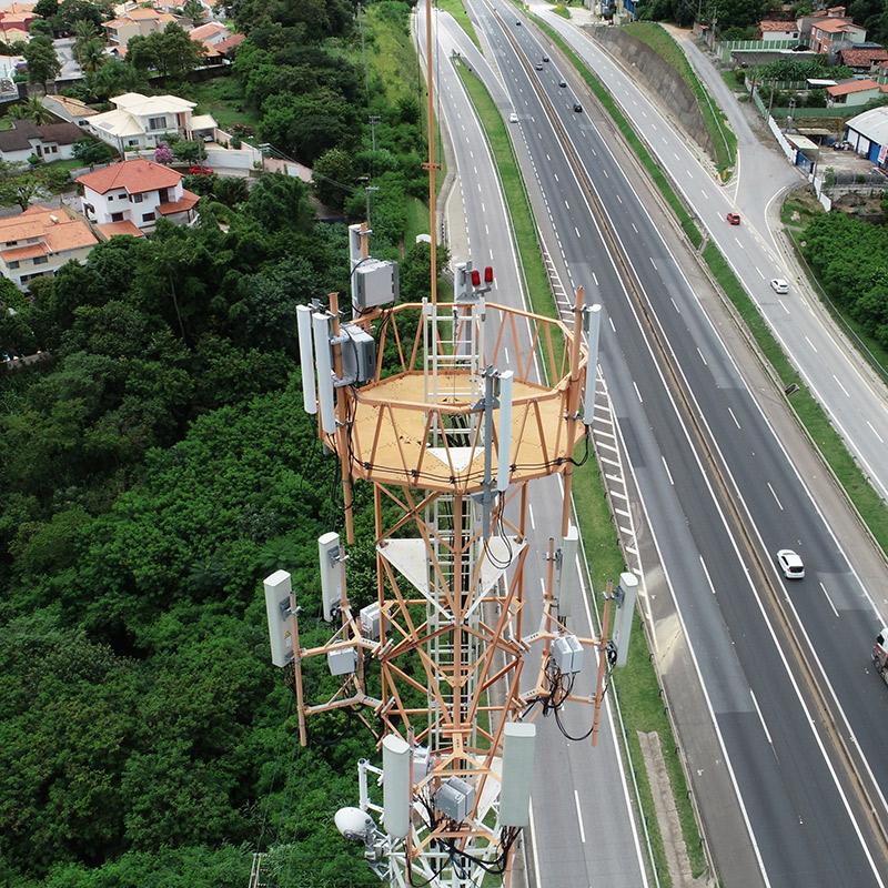 Inspección de torre con Dron