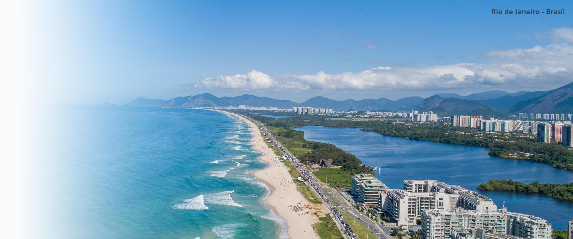 Imagen aérea de Río de Janeiro