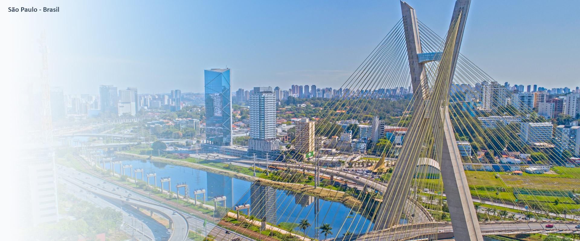 Imagen aérea de Sao Paulo